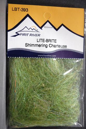 Lite Brite Dubbing langfaserig Spirit River USA 25 Farben Auswahl Lite Brite Dub