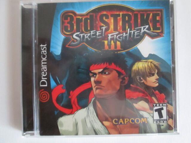 STREET FIGHTER III THIRD STRIKE SEGA DREAMCAST 2000 /FREE SHIPPING