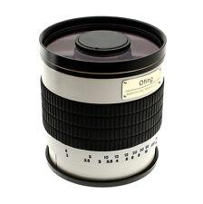 OBJECTIF 500mm F 1:6.3 pour SONY Alpha Series A99 A77 A65 A58 A57 A55 A390 + T2