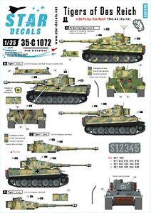 Star-Decals-1-35-Tigers-Das-Reich-s-SS-PzKp-Das-Reich-43-44-Kurskbeyond-35c1072
