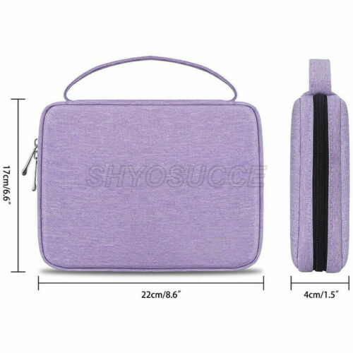 Earphone Cable Charger Strap Organizer Bag Travel Storage Pouch Portable Case