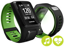 TomTom Runner 3 Music Cardio GPS Watch with Large Strap