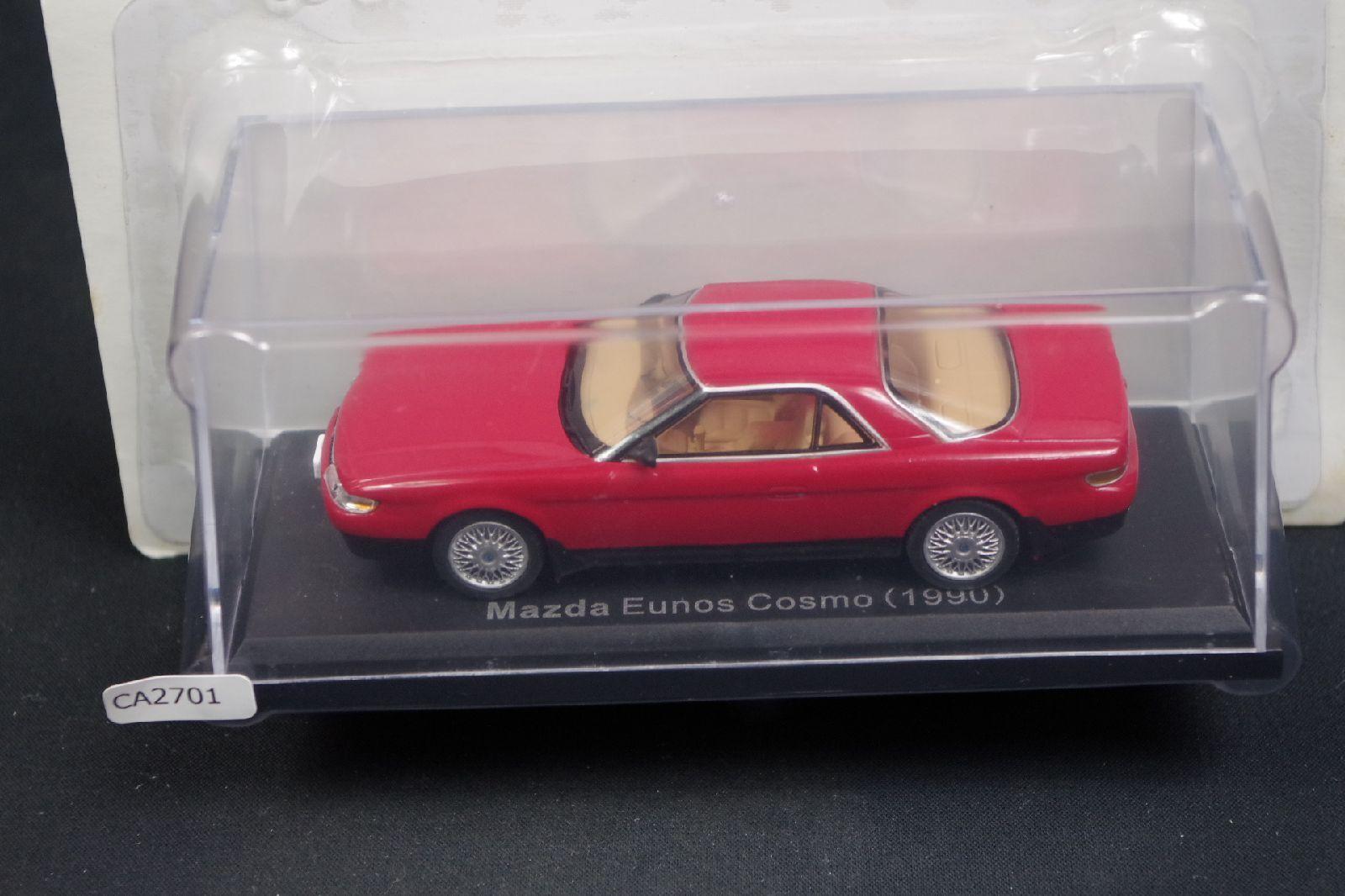 Mazda Eunos Cosmo Caja de escala 1990 1 43 Diecast panDimensione de coche mini CA61