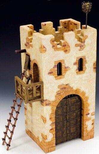 KING OCH LAND DIOVAMA SP049 ROMAN GATEWAY   GUARD TOWER MIB