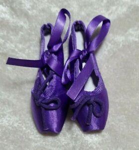 1-3-BJD-girl-SD-ballet-shoes-slippers-toe-shoe-Doll-ABJD-Dollfie-Toy-Purple