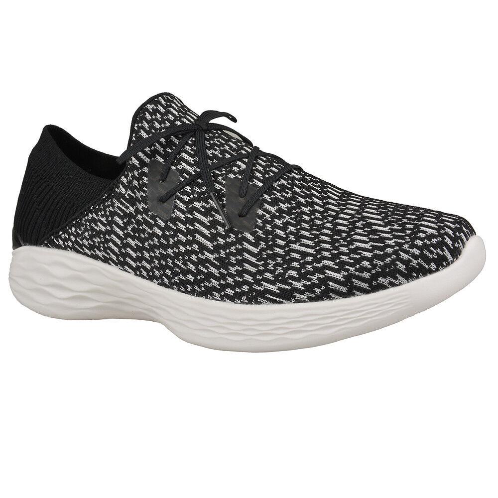 Nuevo señora Skechers mocasines You-Reveal zapatos casuales zapatillas deportivos You-Reveal mocasines negro 89fd68