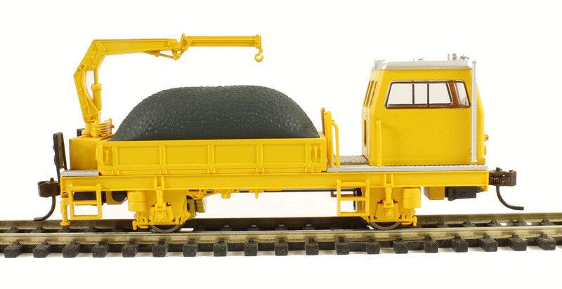 HO-Gauge - Bachmann - MOW Ballast Vehicle With Crane