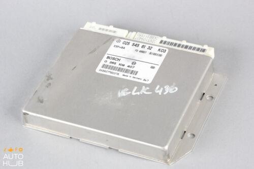 98-00 Mercedes W208 CLK320 CLK430 ASR ABS Control Module Unit 0255456132 OEM