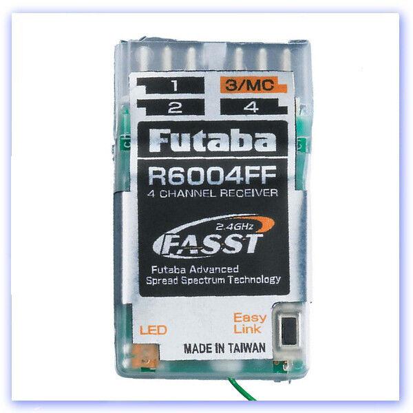 Futaba R6004FF 4 Channel Fasst indoor receiver