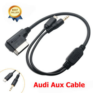music mdi ami mmi interface aux lightning cable for audi vw to samsung android ebay. Black Bedroom Furniture Sets. Home Design Ideas