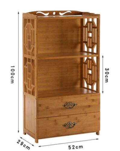 Bamboo Antique Style Multi-Function Book Shelf  storage choice elegant 楠竹书架置物架
