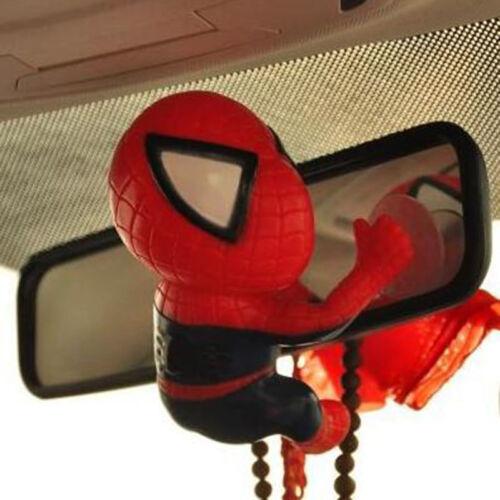 Figure Spider Man Toy Climbing Spiderman Window Sucker for Spider-Man Doll Car
