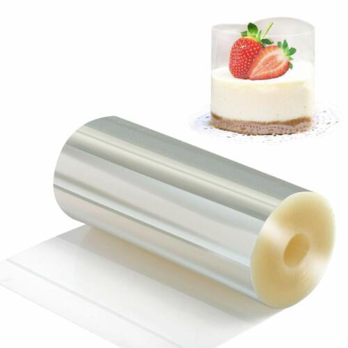 Cake Collars Acetate Rolls Clear Transparent Cake Strips Decorating Decoration