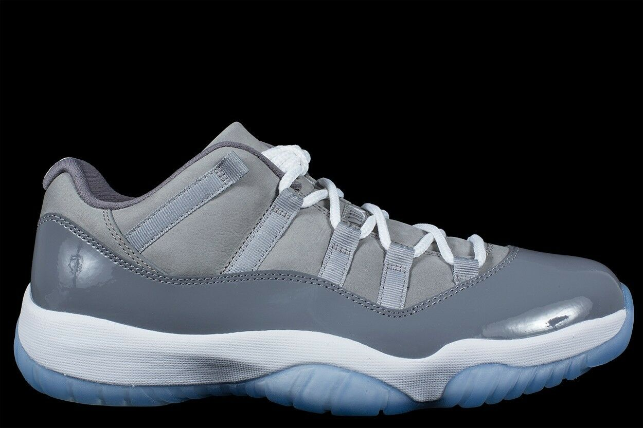 2018 Nike Air Jordan 11 XI Retro Low Cool Grey Size 8. 528895-003
