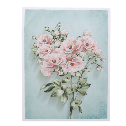 Flower Oil Painting Canvas Poster Print Unframed Picture Wall Home Art Decor AA