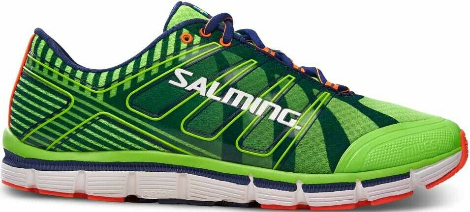 Salming Miles Mens Running shoes Cushioned Trainers - Green