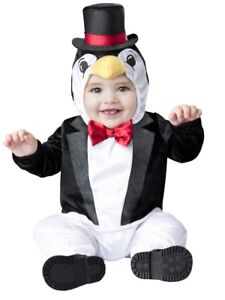 Image is loading Infant-Boys-&-Girls-Precious-Penguin-Halloween-Costume-  sc 1 st  eBay & Infant Boys u0026 Girls Precious Penguin Halloween Costume Baby Jumpsuit ...