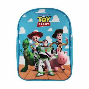 Disney-Pixar-Toy-Story-Characters-Blue-Childrens-Backpack-School-Bag-Rucksack