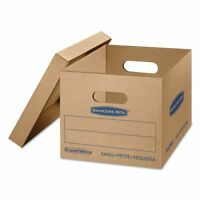 Bankers Box Smoothmove Classic Small Moving Boxes With Lift-off - Fel7714209 on sale