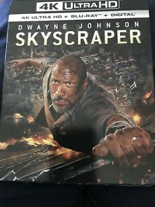 Rascacielos-4K-Ultra-Hd-Blu-ray-Slipcover-Nuevo-Sellado-Dwayne-Johnson