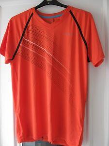 Björn Borg Troy Tennis T-shirt Homme Orange Rouge L-afficher Le Titre D'origine