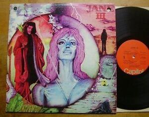 Jane-3-III-Drei-USA-1975-original-Capitol-Kraut-Deutschrock-Kult-TOP
