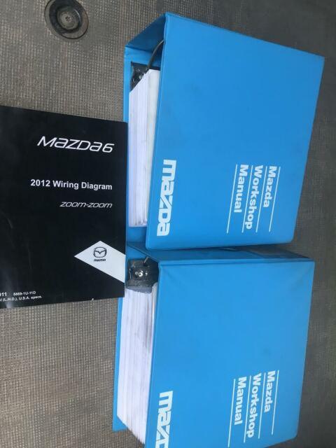 2012 Mazda6 Mazda 6 Service Repair Workshop Shop Manual