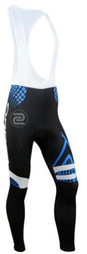 KJU500 New Road Riding Cycling Winter Thermal Fleece long sleeve jersey Bib Pant