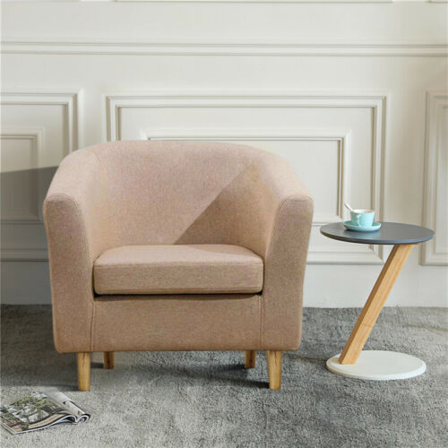 Comfortable Sofa Chair Line Fabric Reception Armchairs Sofa Club Cafe Relax Sofa