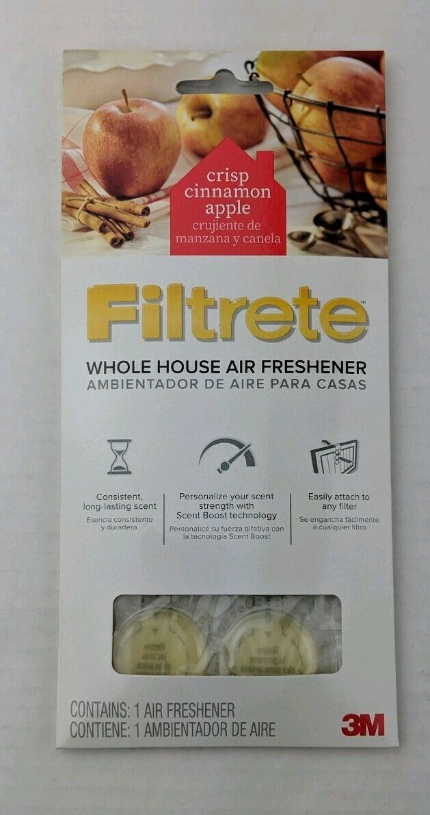 5 Pk 3m Filtrete Whole House Air Freshener Cinnamon Scent Filter For Sale Online Ebay