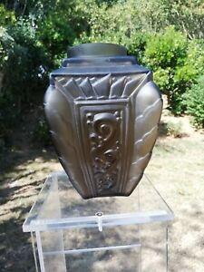 superbe vase art nouveau, déco