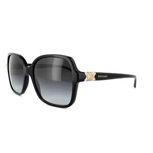 b5795e8dfd Image is loading Bvlgari-Sunglasses-8164B-501-8G-Black-Dark-Grey-