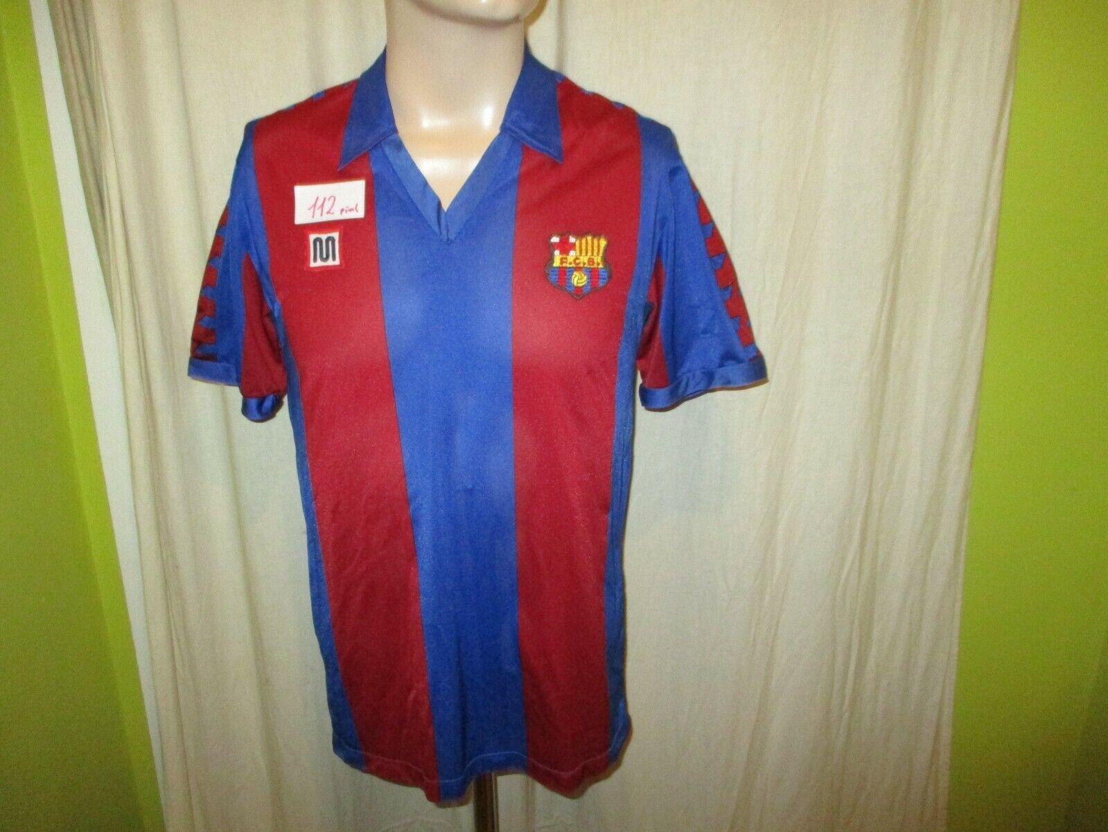 FC Barcelona Original Meyba Trikot 1984-1989  ohne Hauptsponsor  Gr.M TOP
