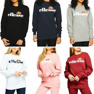 4f50c543db Details about Ellesse Women's Sweatshirts Agata Sweat Top - UK 6, 8, 10,  12, 14