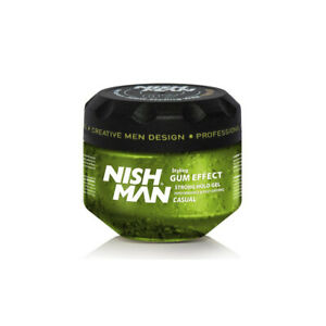 NISH-MAN-STYLING-GEL-G1-CASUAL-300ML-Barber-Mens-Hair-Wax-Style-Stylish
