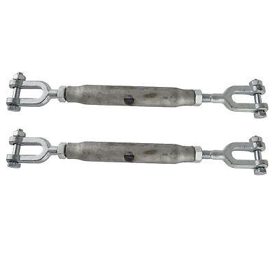 Arridatoio 8mm Zincato Mascella Mascella Di 2 Pack Tenditore A Lavoro Dk66- Sapore Fragrante (In)