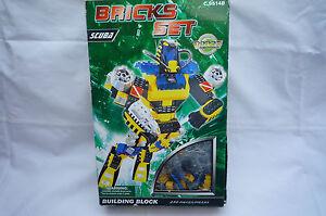 Bricks-Set Roboter 230 Teile von WOMA NEU OVP - <span itemprop='availableAtOrFrom'>Oberschwaben, Deutschland</span> - Bricks-Set Roboter 230 Teile von WOMA NEU OVP - Oberschwaben, Deutschland