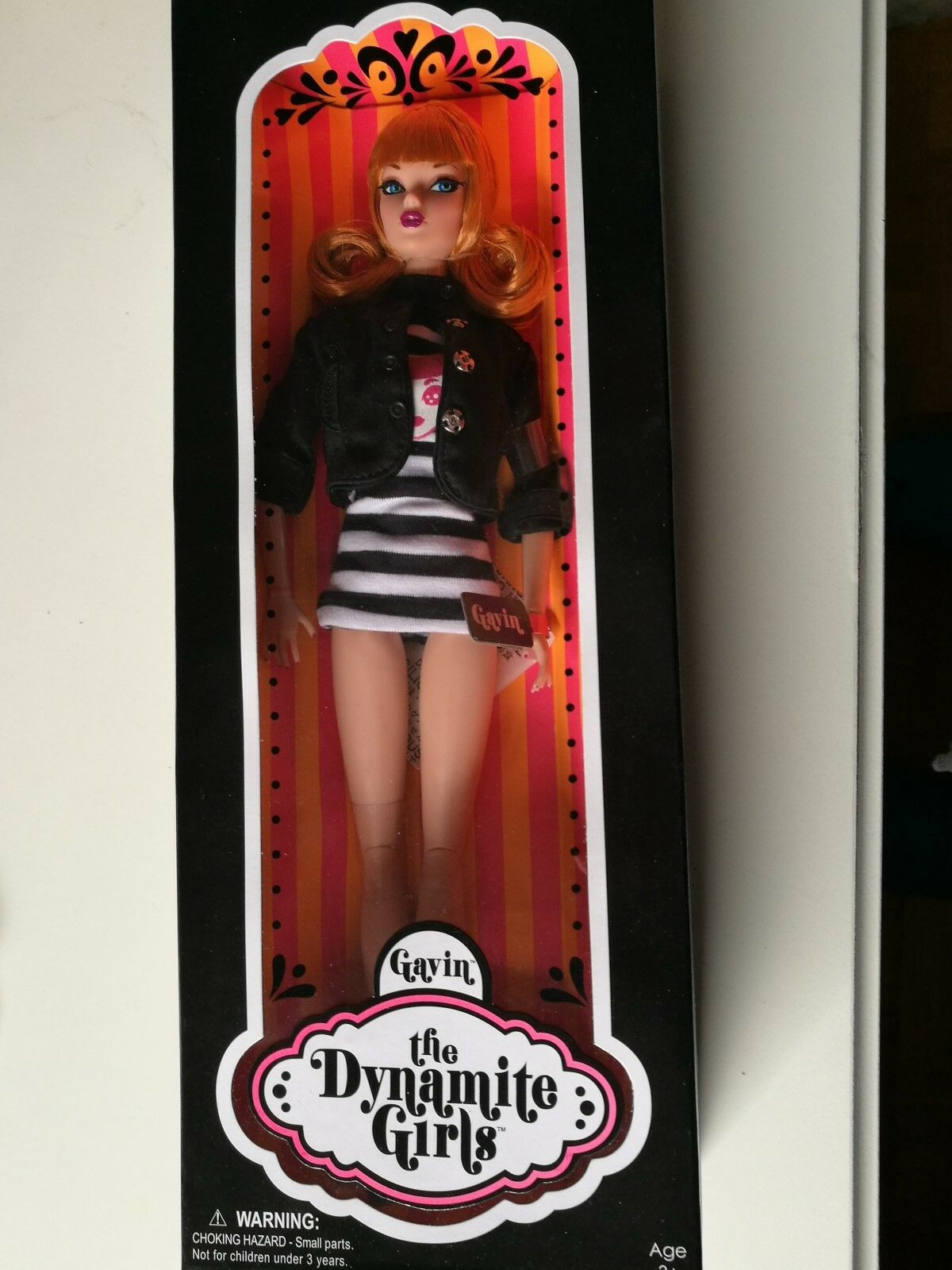 FASHION Royalty Integrity TOYS the Dynamite Girls Collection WAVE 1 Gavin NRFB