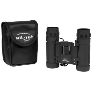 Collapsible-Binocular-8X21-Hiking-Camping-Outdoor-Travel-with-Carry-Pouch-Black