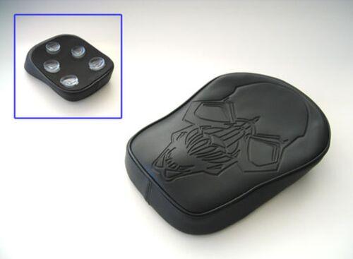 Sellino Sella Pelle Skull Big Ventose Harley DAVIDSON Iron Nightster Low Custom