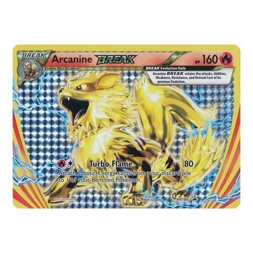 XY180 Arcanine BREAK NM Pokémon n° Turbo Flame Anglais