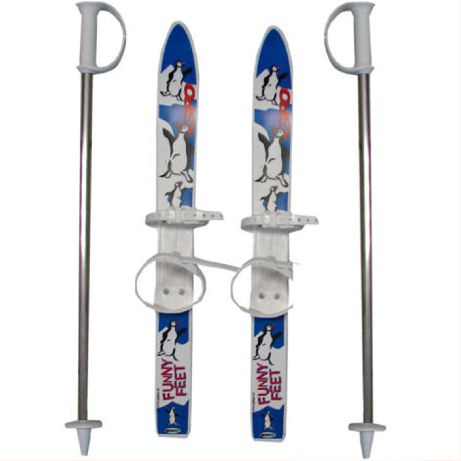 V3TEC Bambini Rutscher Einsteiger-Ski Plastica Sci-Bambini Anfänger-set &