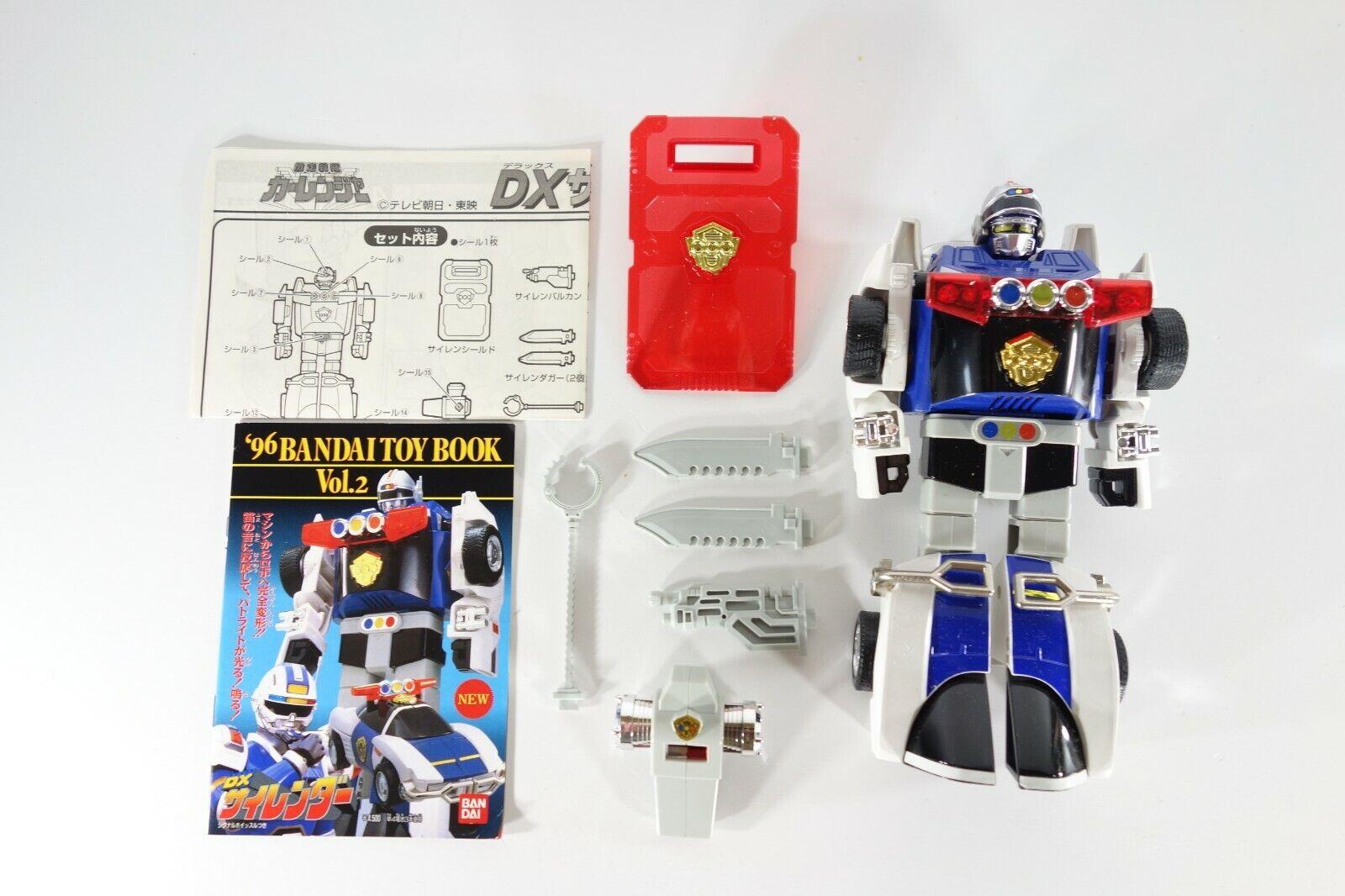 Beai DX Silender Gekisou Sentai autoRanger Robot cifra  Megazord Japan Rare  vendite calde