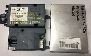 Holden-Commodore-Body-Control-Module-BCM-ECU-amp-A-Keypad-to-suit-VX-WAGON-251-MID