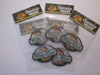 Bass Pro Shops White River Patch 1 Outdoor World 4x3 Inch Factory Sealed 32a