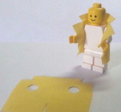 Back To The Future Doctor Doc Emmett Brown Lab Coat Custom Mini Figure Minifig