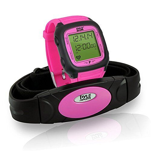 Multi-Function Speed & Distance Digital Pedometer Calorie Counter Heart Monitor