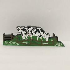 6 Blank Notecards and Magnet New Cows in Love 3 Pc Set-Notepad