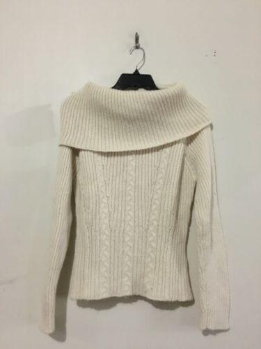 Bomuld Top Størrelse Free Wool Cream Kvinder Knit People Skildpadde Cable Neck M Sweater 8nF8UPq1z