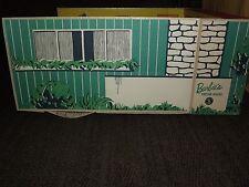 VINTAGE TOY  1962 MATTEL FOLD UP CARDBOARD BARBIE'S DREAM HOUSE with FURNITURE